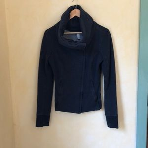 Lululemon blue zip up sweatshirt